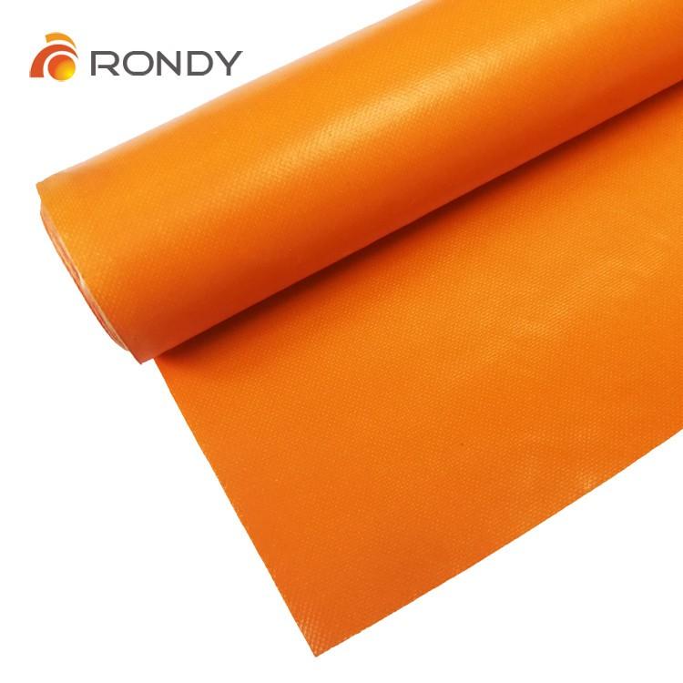 180 C PVC coated fiberglass fabric cloth for fire proof,water proof