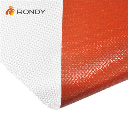 One side or double side coating silicone fiberglass fabric cloth