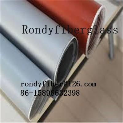 7628 0.3mm Silicone coated fiberglass fabrics