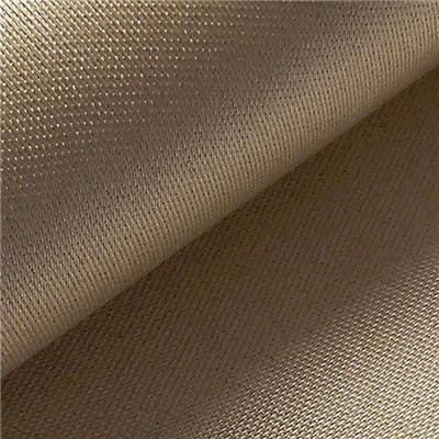 1200G High Silica Cloth Fabric 1.3mm Satin Weave Fiberglass Cloth For Fire Blank
