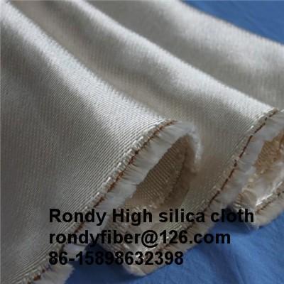 1200gsm 1.3mm Fiberglass Fabric High Silica Cloth For Welding Blanket