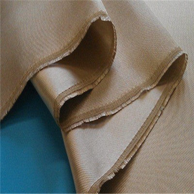 8HS High Temperature Fiberglass High Silica Cloth White For Fire Blanket