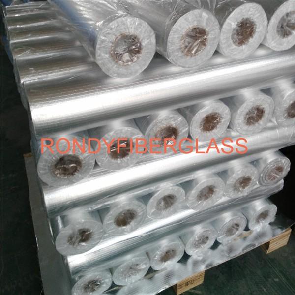 Aluminum foild laminated fiberglass cloth