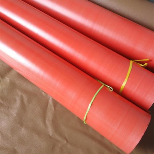 orange pvc fire blanket