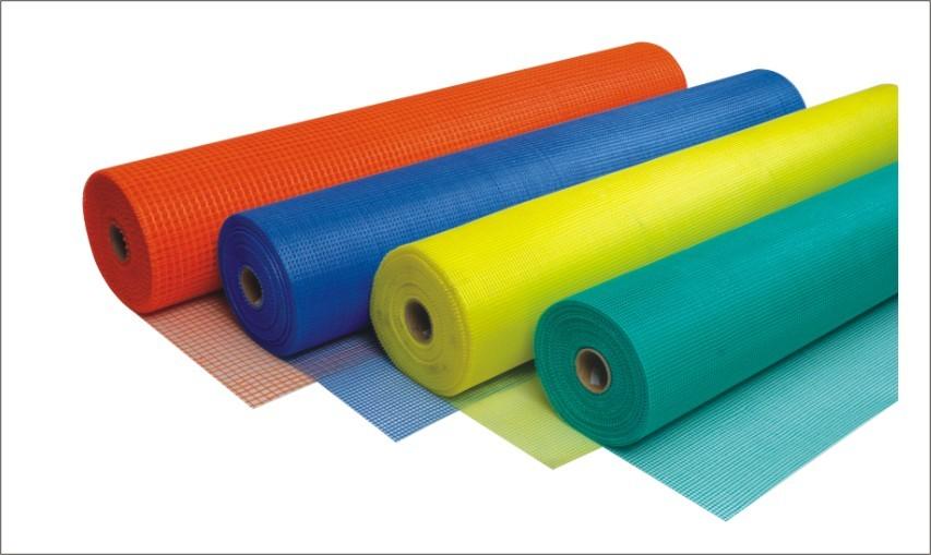 acrylic gold yarn fiberglass mesh rolls