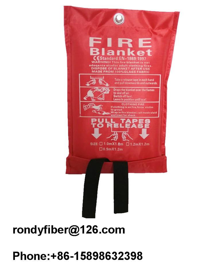 1.0x1.0m,1.2x1.2m,1.2x1.8m,1.8x1.8m Fire resistant blanket