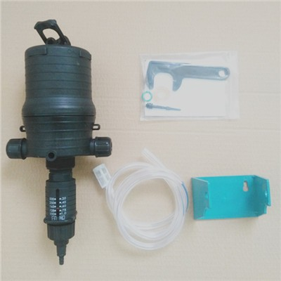0.4~4% accurate dosing rate water driven pump
